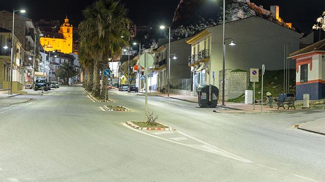 Proyecto Iluminacion Led zona Urbana - Illora (Granada)