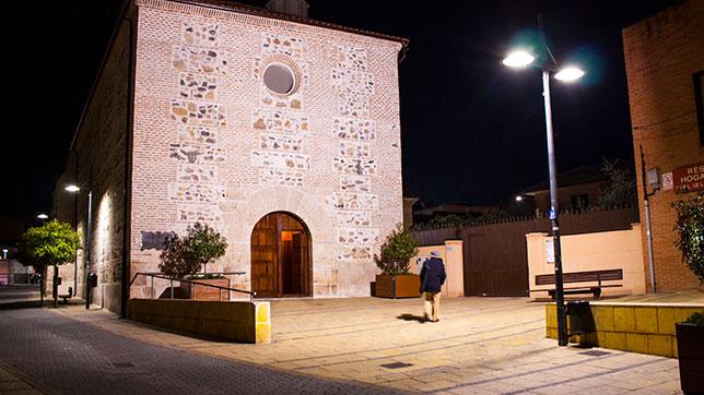 Proyecto Iluminacion Led zona Monumental - Mejorada del Campo (Madrid)