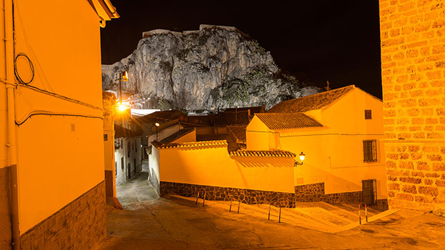 Proyecto Iluminacion Led zona Monumental - Illora (Granada)