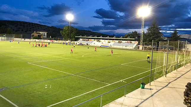 Proyecto Iluminacion Led zona Deportiva- Illora (Granada)