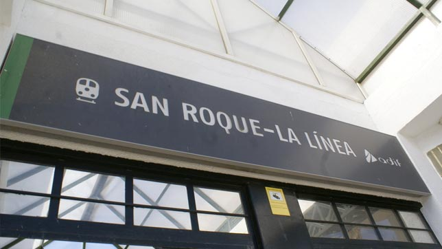 San Roque Train station